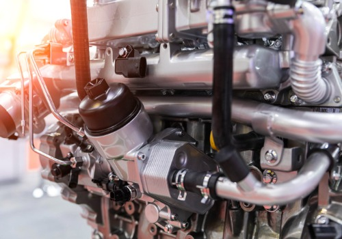 An engine that requires diesel fuel to run