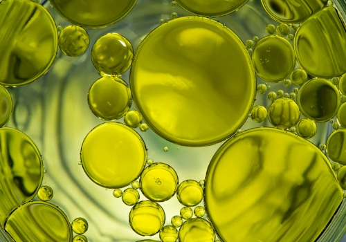 Green bubbles in Oils and Lubricants